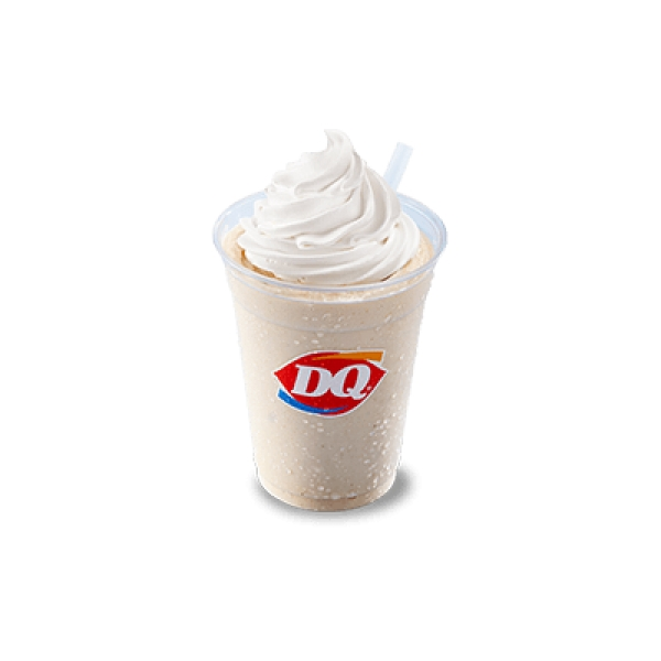DQ peanut butter soft serve ice cream shake